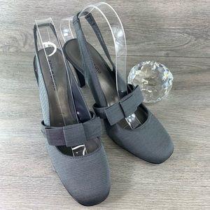 Ann Marino Mary Jane Slingback Heels Size 9M